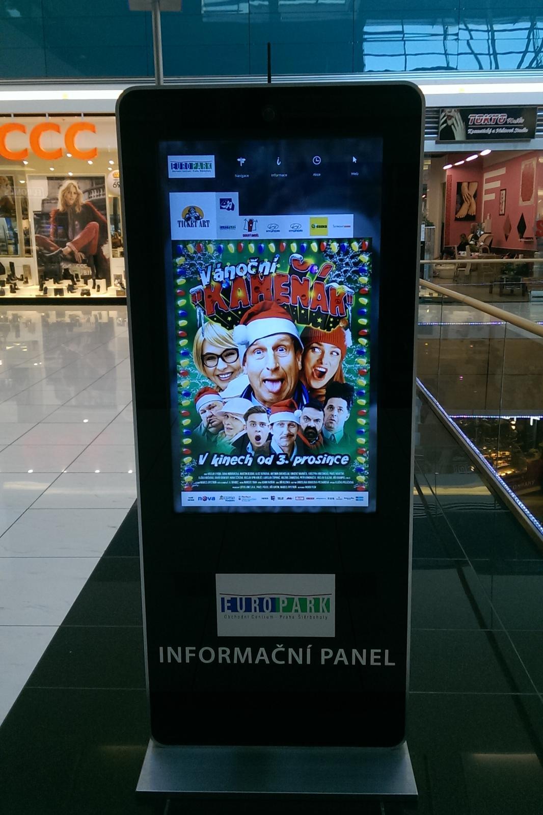 Interaktivní digitální panely