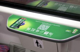 reklama vlak